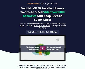 VideoTours360 - Reseller - Unlimited Accounts discount code