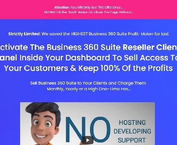 Business360 Suite Reseller License discount code