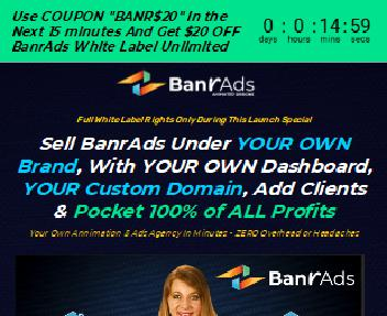 BanrAds White Label Unlimited discount code