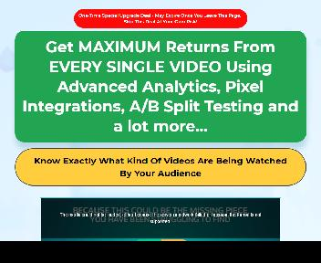 VIDEOMAN Performance & Analytics COMMERCIAL: Get 10x More Conversions and Profits of Your Videos discount code