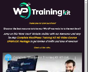 Complete WordPress Training Kit-HD Video Course Coupon Codes