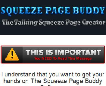 Squeeze Page Buddy Pro discount code