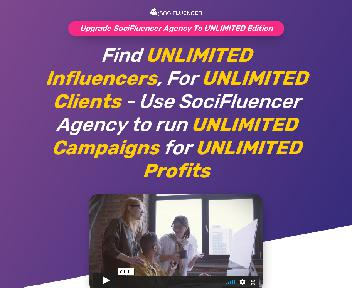 SociFluencer Agency Unlimited Edition - DS discount code