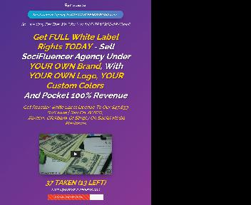 SociFluencer Agency White-label Unlimited License discount code
