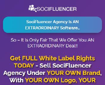 SociFluencer Agency White-Label 250 License - DS discount code