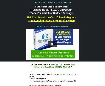 Commission Host List Builder Package discount code