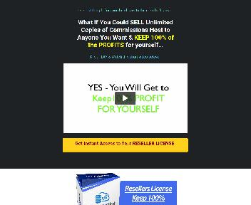 Commission Host Reseller Unlimited discount code