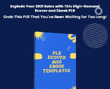 PLR Ecover and Ebook Templates - Resell Right discount code