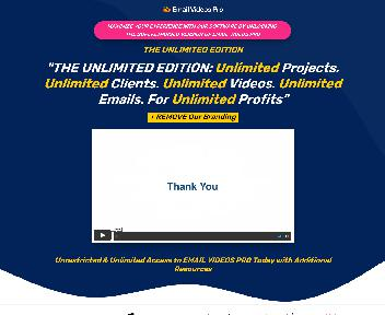 Email Videos Pro Unlimited discount code