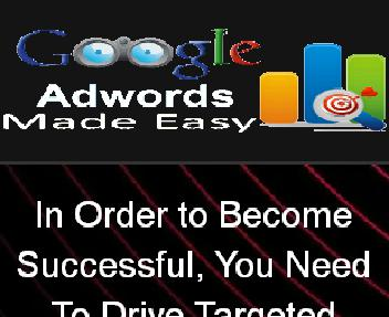 Google Adwords Made Easy Video Course discount code