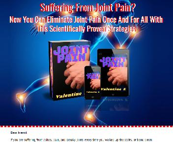 Joint Pain discount code
