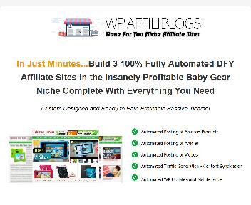 AFFILIBLOGS Baby Gear Edition discount code