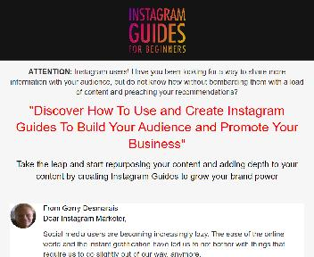 Instagram Guides For Beginners Master Resell Rights License discount code