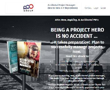 Accidental Project Manager: Zero to Hero in 7 Days - eBook discount code