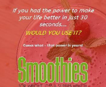 Smoothies For Weight Loss discount code