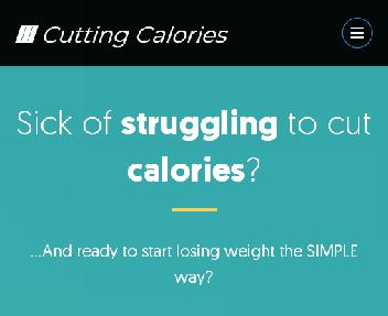 Cutting Calories Made Easy discount code