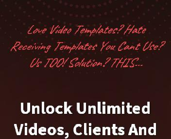 SmartVideo Evolution Professional - Template Generator Yearly discount code