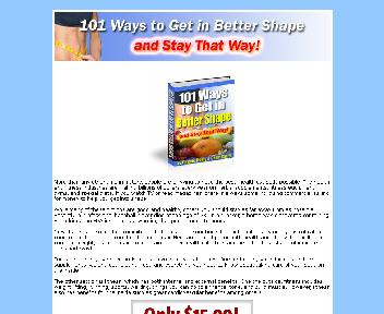101 Ways to Get in Better Shape Coupon Codes