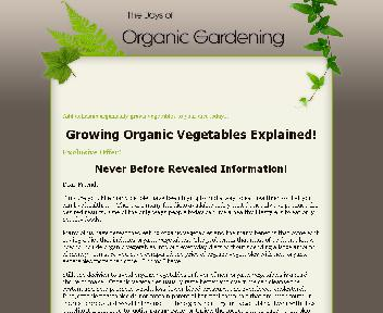 Organic Gardening For Beginners Coupon Codes