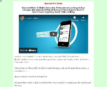 Awesome Professional Looking Videos Cheaply And Quickly Coupon Codes