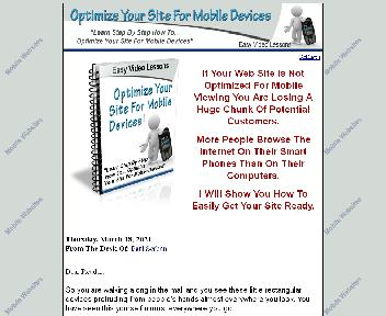 Optimize Sites For Mobile Devices Coupon Codes