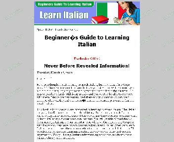 Beginners Guide To Learning Italian Coupon Codes