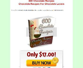 600 Chocolate Recipes Coupon Codes