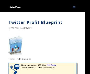 The Twitter Blueprint Coupon Codes
