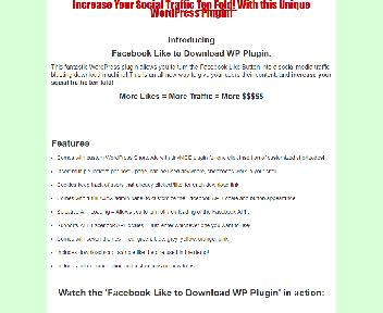 Facebook Like to Download Coupon Codes