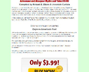 Achomawi and Atsugewi Myths and Tales Coupon Codes