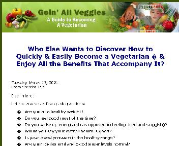 Going All Veggies Coupon Codes