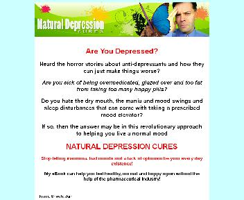 Natural Depression Cures Coupon Codes