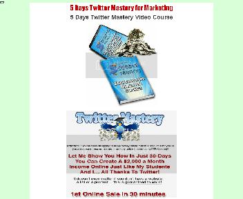Twitter Mastery Video Course Coupon Codes