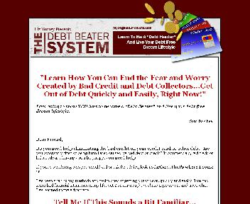 The Debt Beater System Coupon Codes