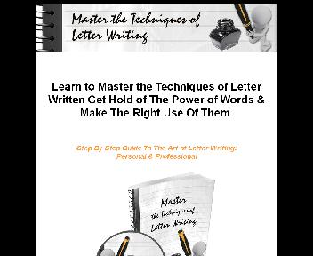 Master The Techniques Of Letter Writing Coupon Codes