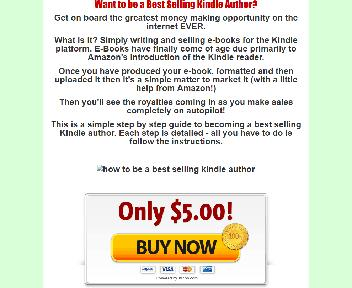 How to Be a Best Selling Kindle Author Coupon Codes