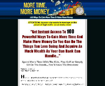 100 Ways To Gain More Time And Make More Money Coupon Codes