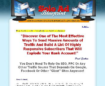Solo Ad Blueprint Coupon Codes