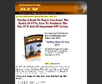 How To Maximize And Enjoy Your ATV Coupon Codes