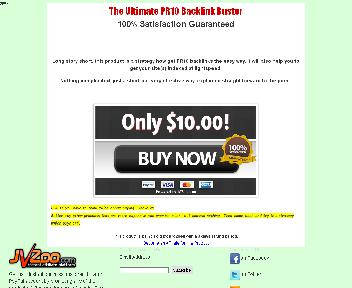 The Ultimate PR10 Backlink Buster Coupon Codes