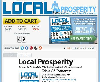 Local Prosperity Coupon Codes