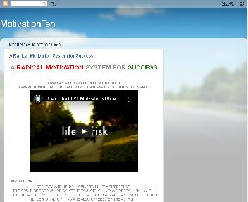 A  Radical Motivation System for Success Coupon Codes