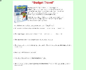 Budget Travel Coupon Codes