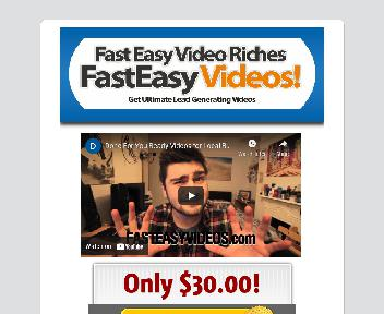 Fast Easy Video Riches Done For You Offline Business Videos Coupon Codes