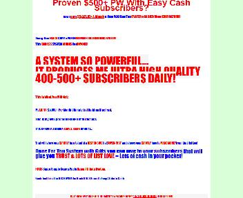 Easy Cash Subscribers Coupon Codes