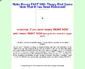 Make Money FAST With Flappy Bird Game After It Has Been Removed Coupon Codes