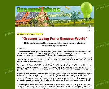 Greener Living For a Greener World Coupon Codes