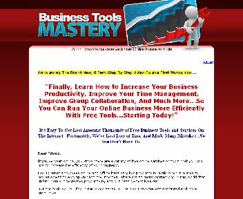 Business Tools Mastery Coupon Codes