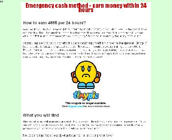 Emergency money 485$ in your paypal balance by tomorrow Coupon Codes
