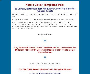 Kindle Covers Template Collection Coupon Codes